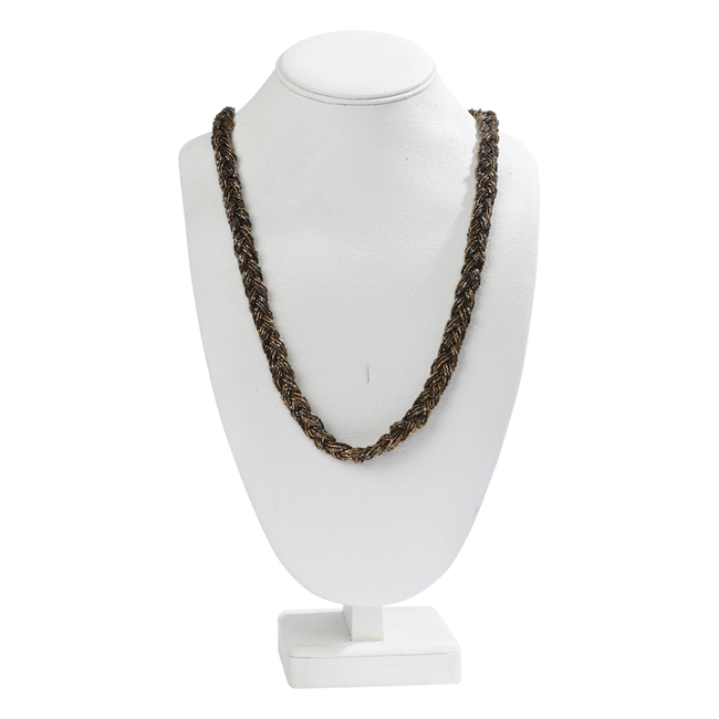 Picture of Necklace Sara, golden/black