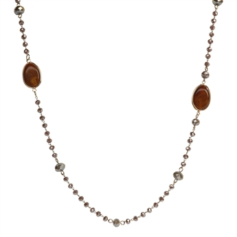 Picture of Necklace Dana, amber