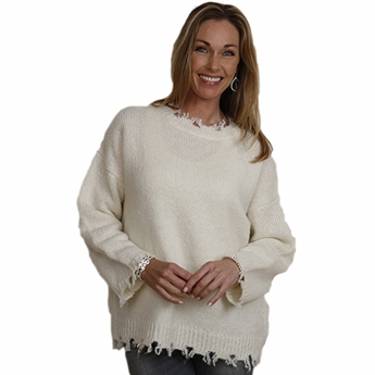 Picture of Pullover Lenassan, white