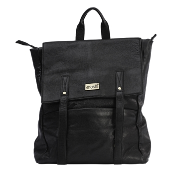Picture of Back pack Sofia, black leather