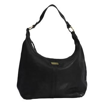 Picture of Shoulder bag Camilla, black leather