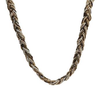Picture of Necklace Eloise, golden/black
