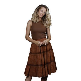 Picture of Skirt Joyce, burnt red
