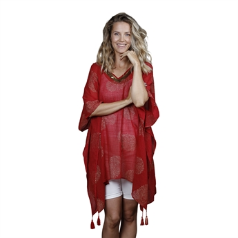 Picture of Kaftan Minna, red