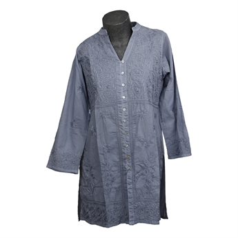 Picture of Tunic Olivia, size Large, grey