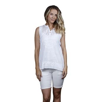 Picture of Tunic Gemma, size Small, white