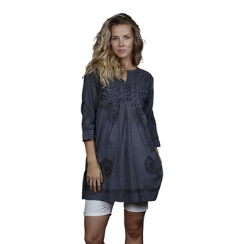 Picture of Tunic Sophie, size Small, dk grey