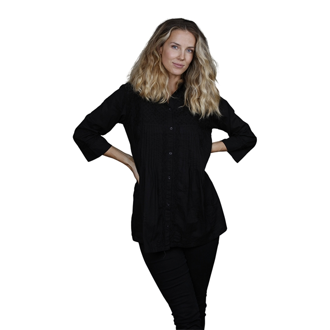 Picture of Tunic Vanessa, size Xtra Large, black