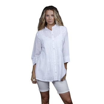 Picture of Tunic Vanessa, size Large, white