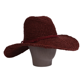 Picture of Hat Verona, brick red