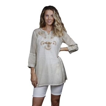 Picture of Tunic Natalie, size Large, beige