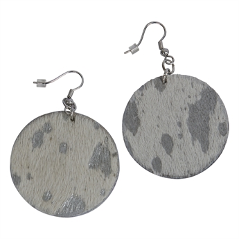 Picture of Earring Ivy, white/silver