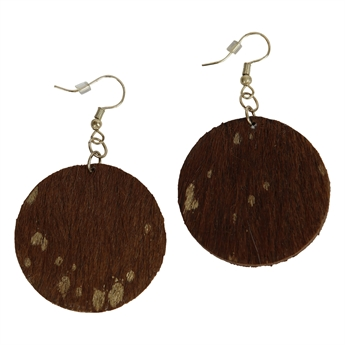 Picture of Earring Sadie, brown/gold
