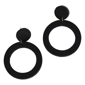 Picture of Earring Ella, black