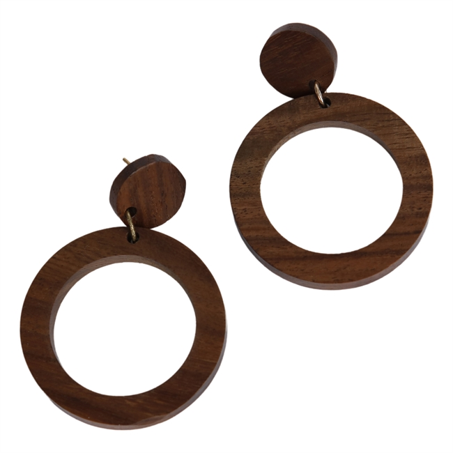 Picture of Earring Ella, brown
