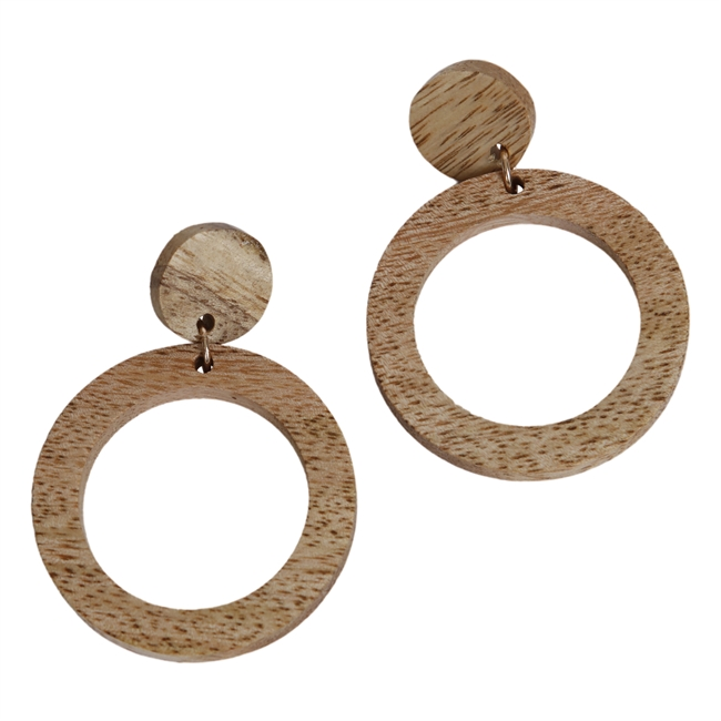 Picture of Earring Ella, natural