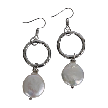 Picture of Earring Sophia, silver.