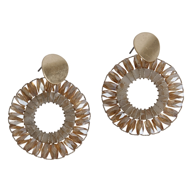 Picture of Earring Avery, gold.