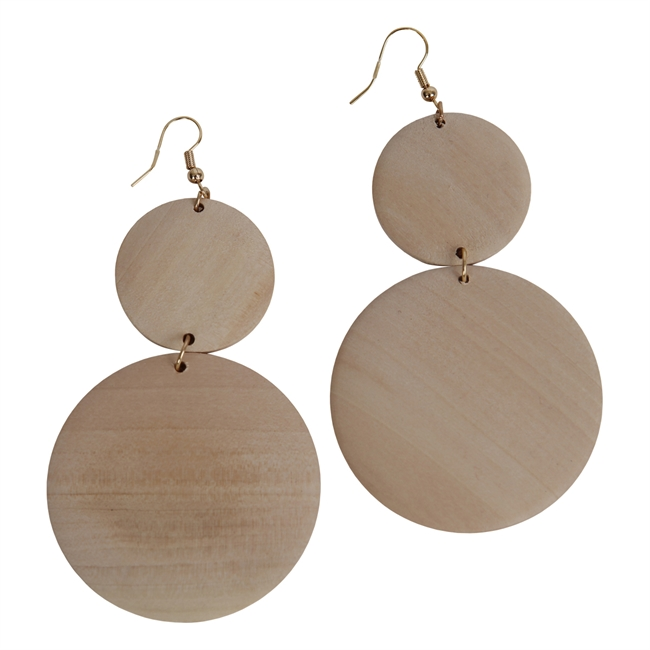 Picture of Earring Aria, natural.