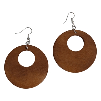 Picture of Earring Sofia, brown.