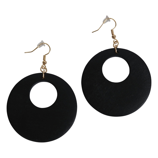 Picture of Earring Sofia, black.