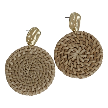 Picture of Earring Lillian, gold.