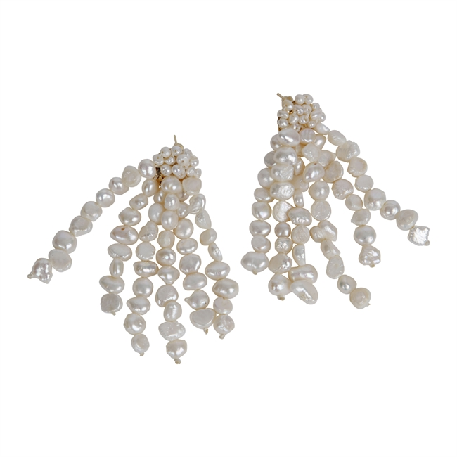 Picture of Earring Mila, ivory.