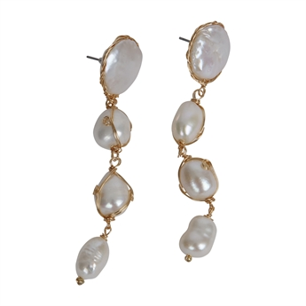 Picture of Earring Aria, ivory.
