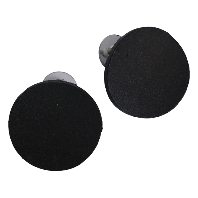 Picture of Earring Nora, black.