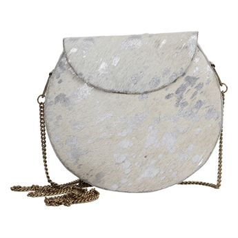 Picture of Handbag Ivy, white/silver