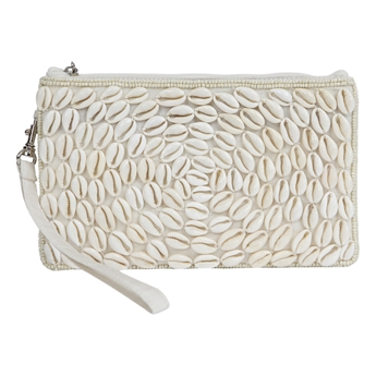 Picture of Mini clutch Shelly, ivory.