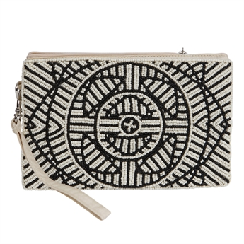 Picture of Mini clutch Daisy, ivory.