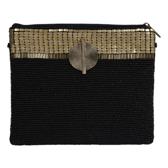 Picture of Clutch bag Sara, gold.