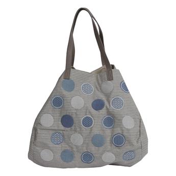 Picture of Shoulder bag Katia, blue/grey.