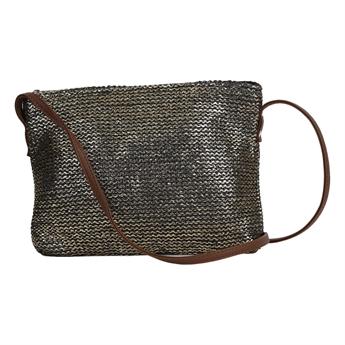 Picture of Shoulder bag Marmi, golden/black.
