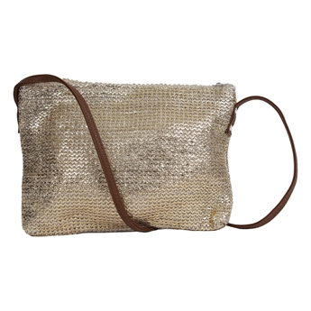 Picture of Shoulder bag Marmi, golden/natural.