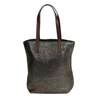 Picture of Bag Marmi, golden/black.