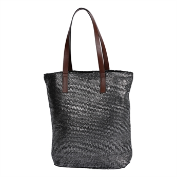 Picture of Bag Marmi, silver/black.