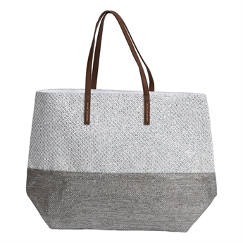 Picture of Bag Nice, grey/silver.