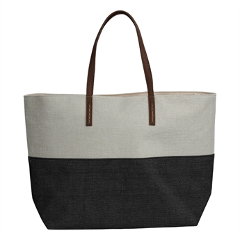 Picture of Bag Ravenna, black/natural.