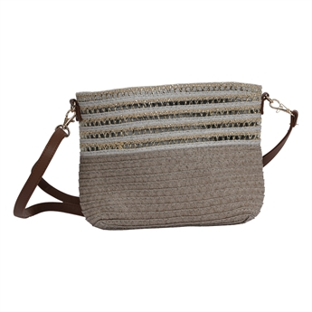 Picture of Shoulder bag Sardina, grey/golden