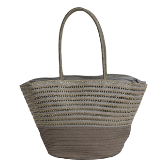 Picture of Bag Sardinia, grey/golden