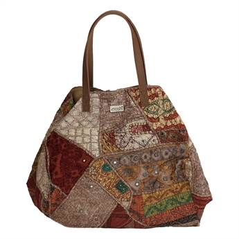 Picture of Shoulder bag Ritikka, stonewash brown