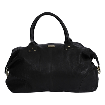 Picture of Weekend bag Amsterdam, black leather