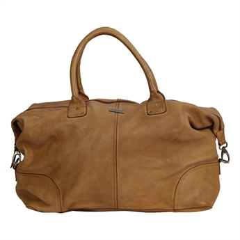 Picture of Weekend bag Amsterdam, tan leather