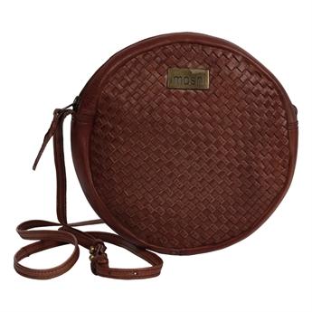 Picture of Shoulder bag Isabella, dk brown leather