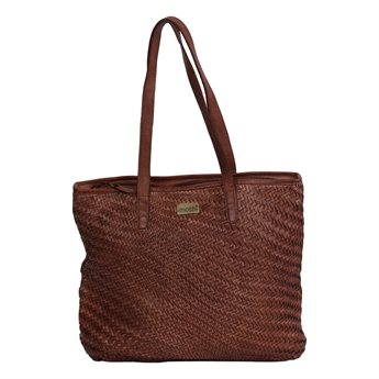 Picture of Shoulder bag Mia, dk brown leather