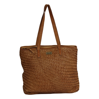 Picture of Shoulder bag Mia, tan leather