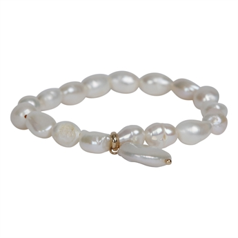 Picture of Bracelet Mila, ivory.
