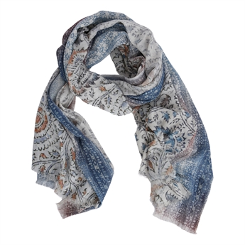 Picture of Scarf Paige, blue mix